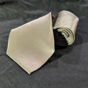 Silver and Grey Necktie